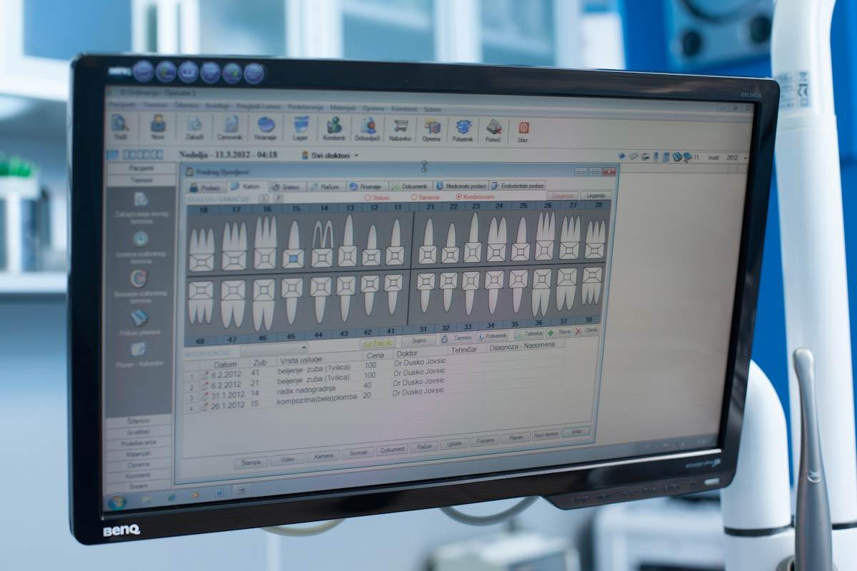 Zubna elektronska kartoteka